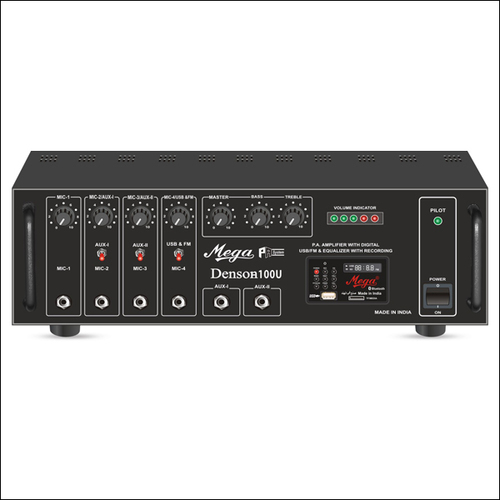 P.A. Medium Power Mixer Amplifiers