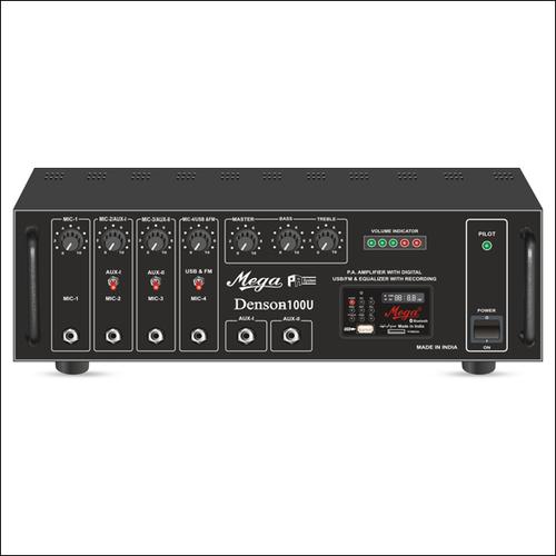 P.A. Medium Power Mixer Amplifiers DENSON-100U
