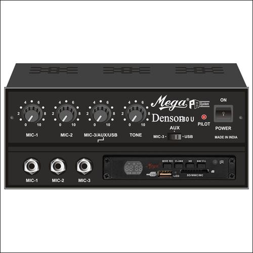 P.A. Low Power Mixer Amplifiers DENSON-30U