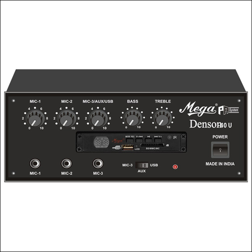P.A. Low Power Mixer Amplifiers DENSON-40U
