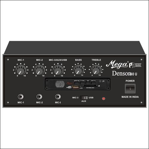 P.A. Low Power Mixer Amplifiers DENSON-40U