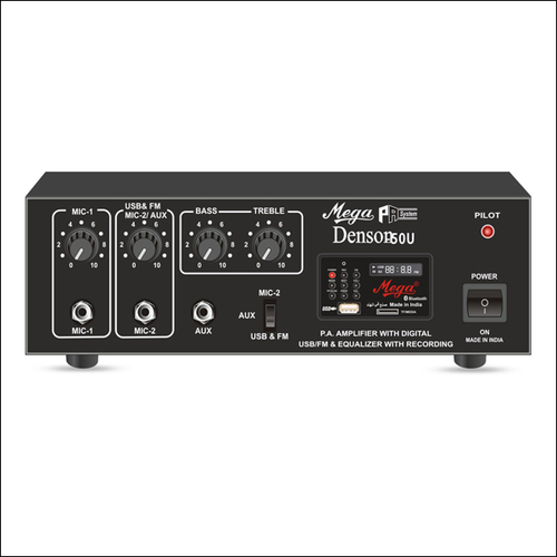 P.A. Low Power Mixer Amplifiers DENSON-50U