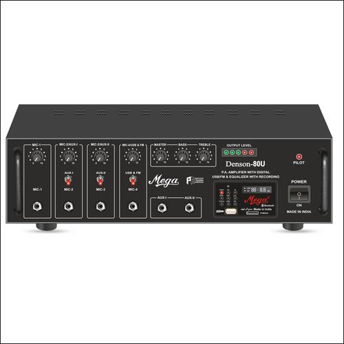 P.A. Low Power Mixer Amplifiers DENSON-80U