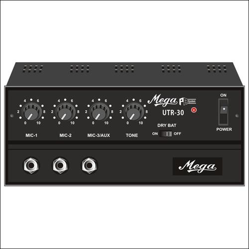 P.A. Low Power Mixer Amplifiers UTR-30