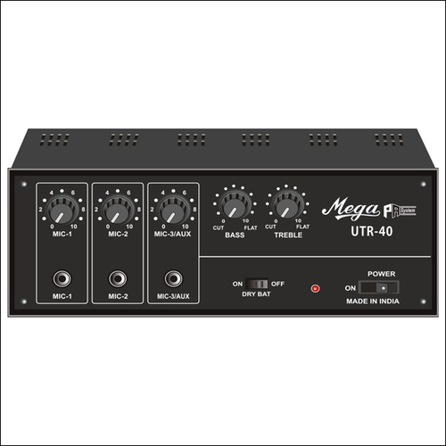 P.A. Low Power Mixer Amplifiers