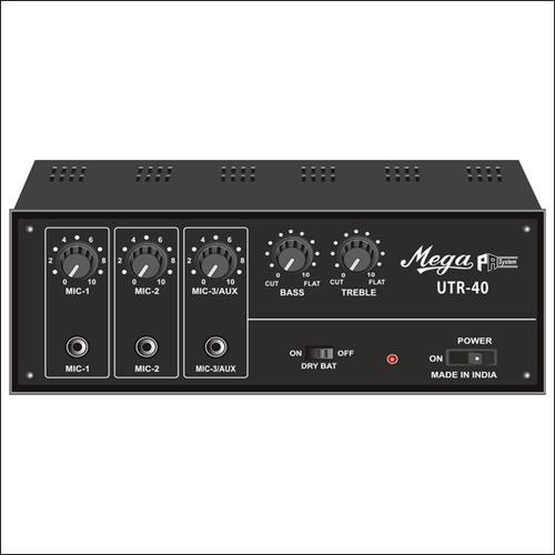 P.A. Low Power Mixer Amplifiers UTR-40