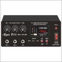 P.A. Mixer / P.A. Mobile Amplifier cum Siren