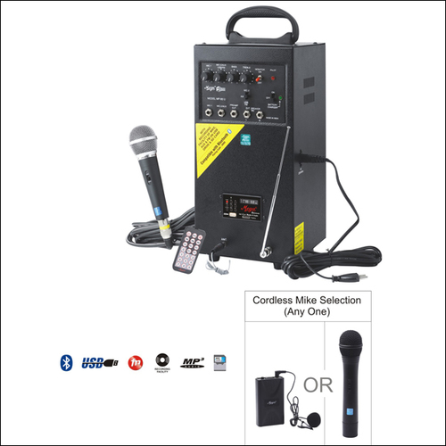 Portable P.A. Systems MP-80UC