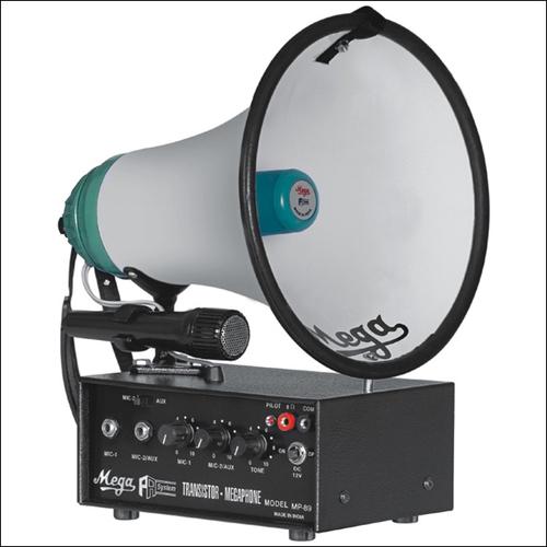 P. A. Megaphones MP-89