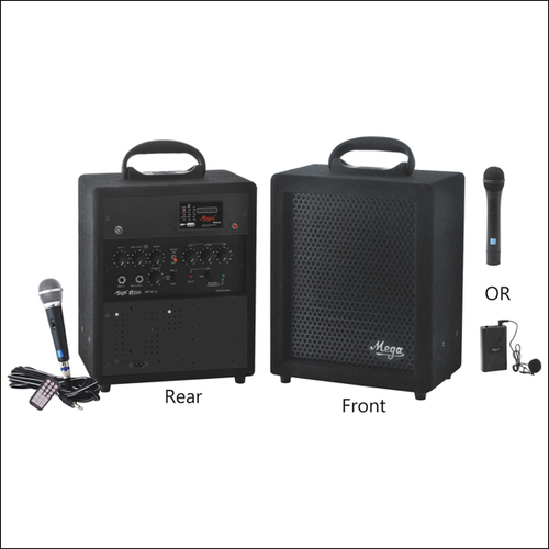 Portable P.A. Systems & P. A. Megaphones MP-65UEC