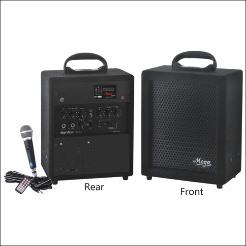 Portable P.A. Systems & P. A. Megaphones MP-65UE