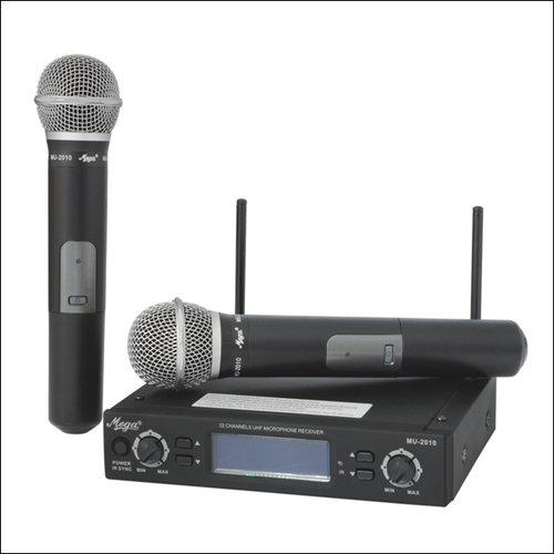 P.A. Wireless Microphones MU-2010