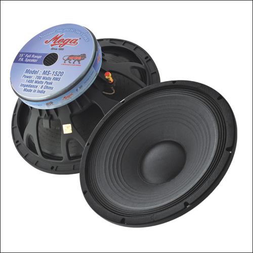 P.A. Speakers MS-1520 1400 Watts