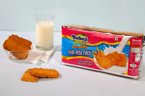 Milk Atta Patti Biscuit