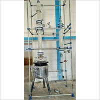 Glass Lined Reactor - Distillation Unit