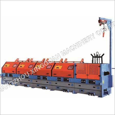 Wire Drawing Machine with Dead Block Coilers
