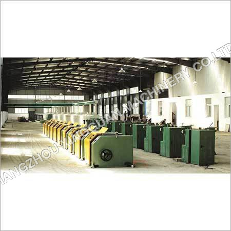 Multi Line Copper Wire Coating Machine