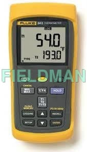 Fluke 54-II B Dual Input Digital Thermometer with Data Logging