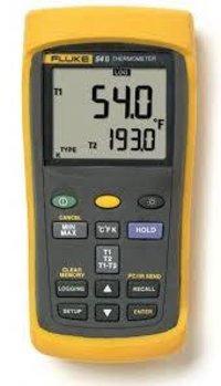 Fluke 54-II B Dual Input Digital Thermometer with Data Logging