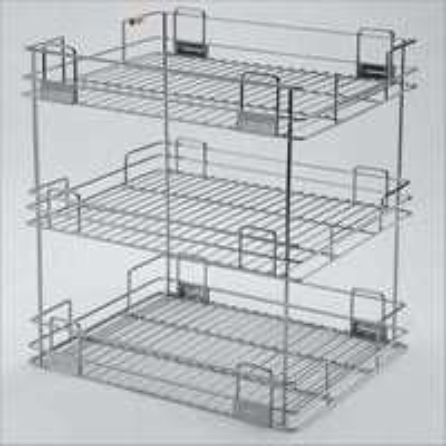 3 Shelves Kitchen Organizer