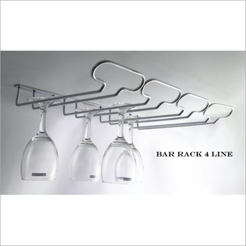 4 Line Bar Rack