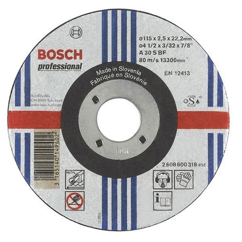 Bosch A30S BF Flat Metal Cutting Disc