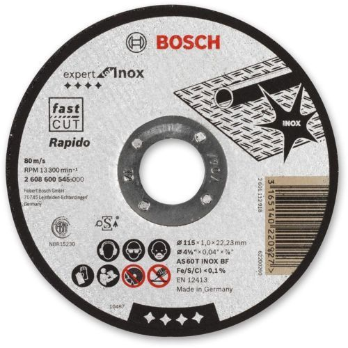 Bosch Inox Cutting Disc