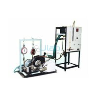 Single Cylinder Two Stroke Petrol Engine Test Rig