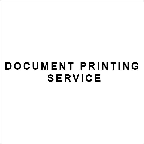 Document Printing Service