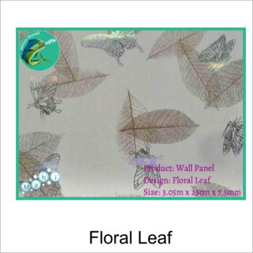 Floral Leaf PVC Wall Panel