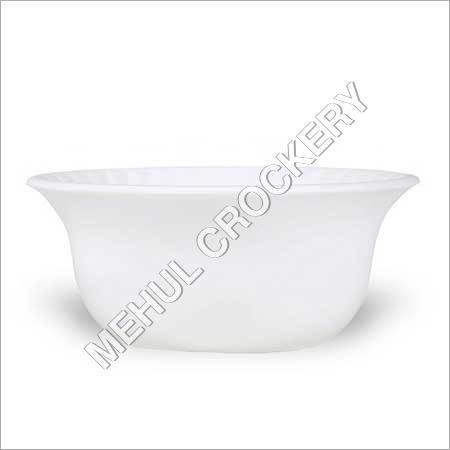 Morel White Vati Bowl