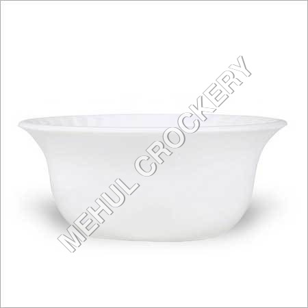 Morel White Vati Bowl