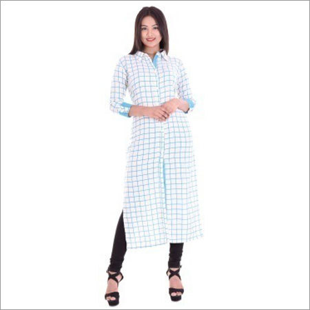 Ladies A-line  Straight  Kurtis