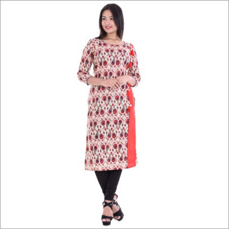 Ladies Side Patti With Funda Kurtis