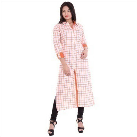 Ladies Fancy A-line Staight Kurtis