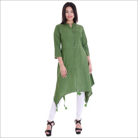 Ladies C Or Fish Cut Kurtis
