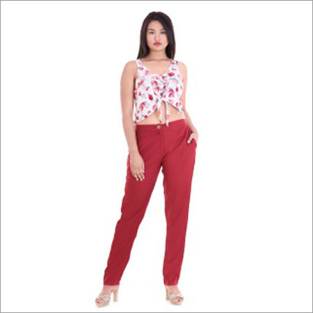 Ladies Fancy Pant