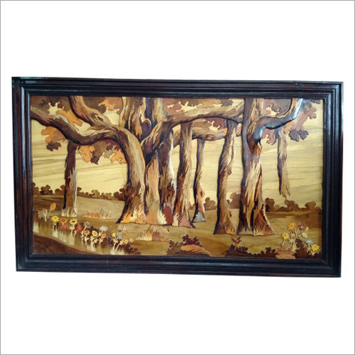 Natural Wooden Painting