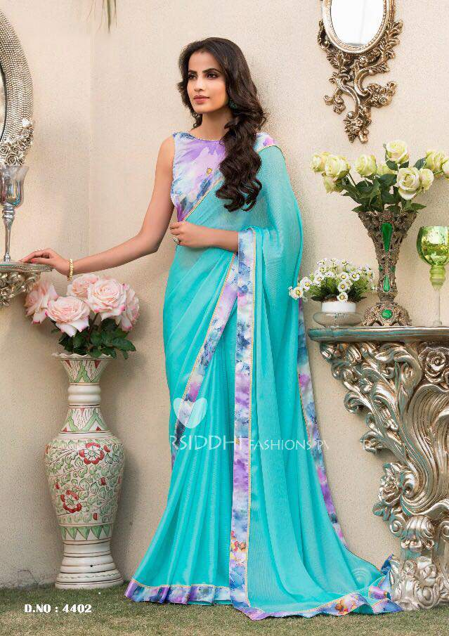 sethnic wholesale market of chiffon sarees
