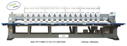15Head Embroidery Machine