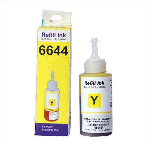 Yellow Inkjet Printing Ink