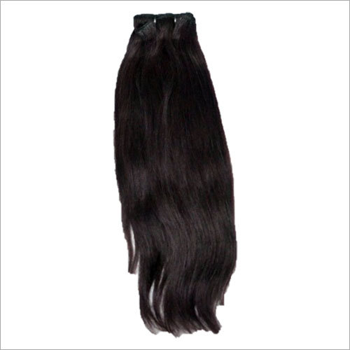 Natural Straight Hair Machine Weft Extension