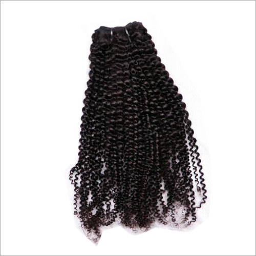 Tight Kinky Curly Machine Weft Hair Extension