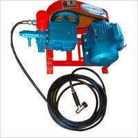 vehicle washer single plunger