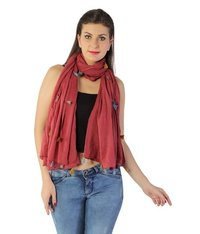 Ladies Coloured Scarves