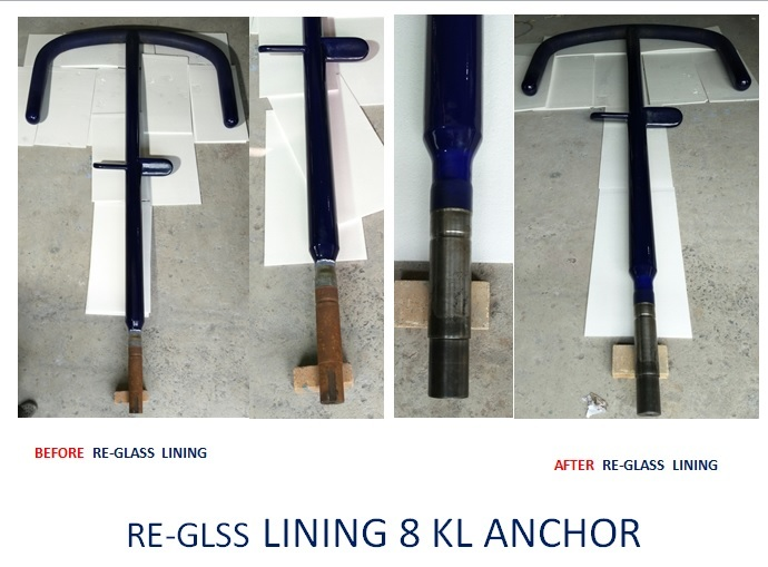 Re-glass lining