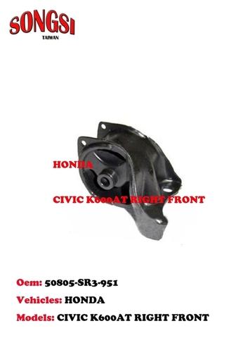 HONDA CIVIC K600AT RIGHT FRONT