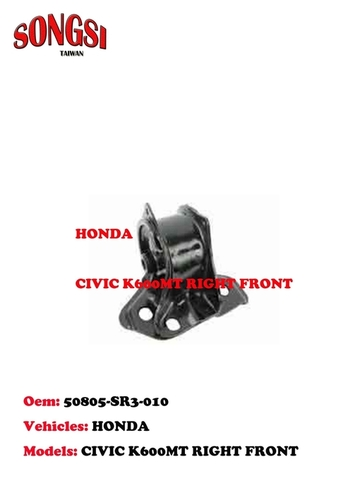 HONDA CIVIC K600MT RIGHT FRONT