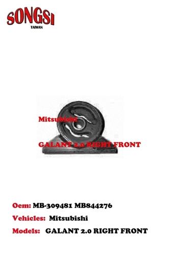 MITSUBISHI GALANT 2.0 RIGHT FRONT