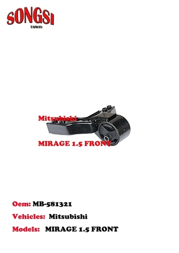 MITSUBISHI MIRAGE 1.5 FRONT